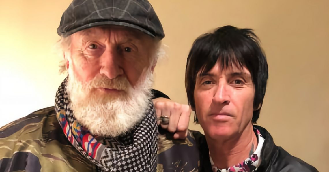 Andrew Loog Oldham and Johnny Marr