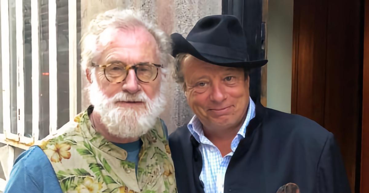 Jonathan Becker and Andrew Loog Oldham